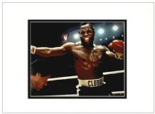 Mr T Autograph Signed Photo Display - Rocky III